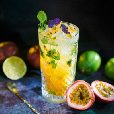 Mojito au fruit de la passion